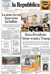 la Repubblica - 17 Ottobre 2019
