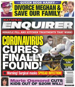 National Enquirer – March 23, 2020