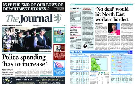 The Journal – October 26, 2018