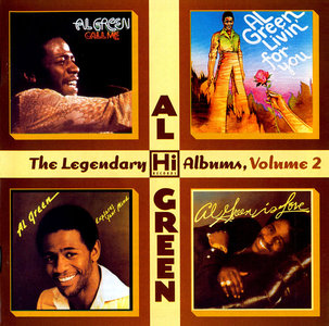Al Green - The Legendary Hi Records Albums, Volume 2 (2006) 4 Albums On 2 CD [Re-Up]