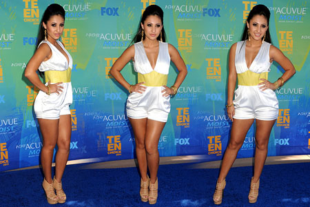Francia Raisa - Teen Choice Awards August 7, 2011