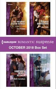 Harlequin Romantic Suspense October 2018 Box Set