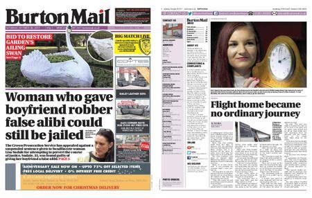 Burton Mail – October 28, 2017