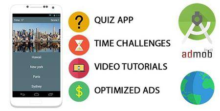 CodeCanyon - Quiz App Template For Android v1.0 - 10816963