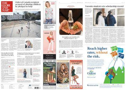 The Globe and Mail – April 23, 2018