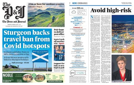 The Press and Journal Moray – October 15, 2020