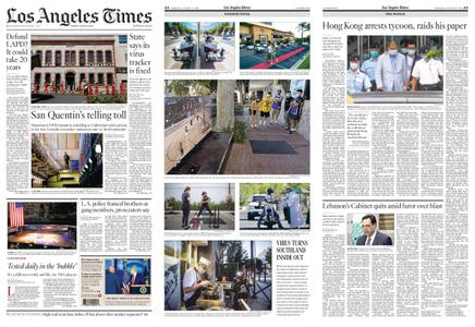 Los Angeles Times – August 11, 2020