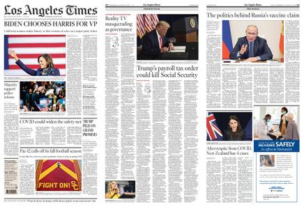 Los Angeles Times – August 12, 2020