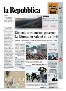 la Repubblica - 17 Febbraio 2019