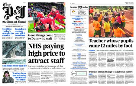 The Press and Journal Moray – October 29, 2018