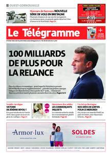Le Télégramme Ouest Cornouaille – 15 juillet 2020