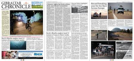 Gibraltar Chronicle – 23 July 2018