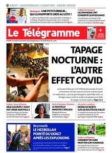 Le Télégramme Brest Abers Iroise – 14 août 2020