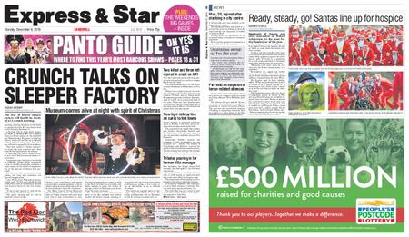 Express and Star Sandwell Edition – December 09, 2019