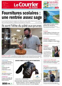 Le Courrier de l'Ouest Angers – 28 août 2021