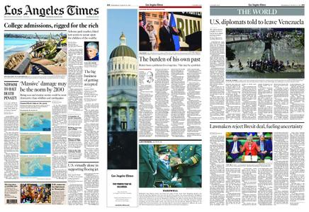 Los Angeles Times – March 13, 2019