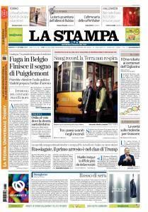 La Stampa Torino Provincia e Canavese - 31 Ottobre 2017