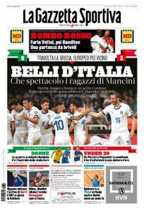 La Gazzetta dello Sport Roma – 09 giugno 2019