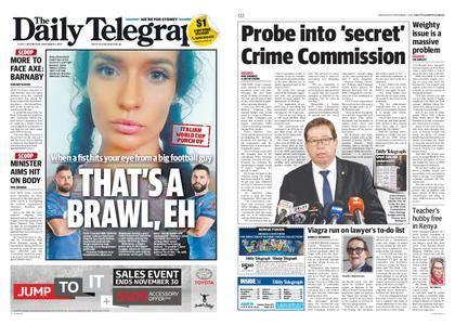 The Daily Telegraph (Sydney) – November 01, 2017