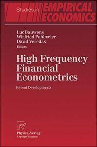 High Frequency Financial Econometrics: Recent Developments (Repost)