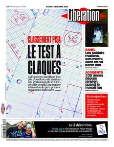 Libération - 03 décembre 2019