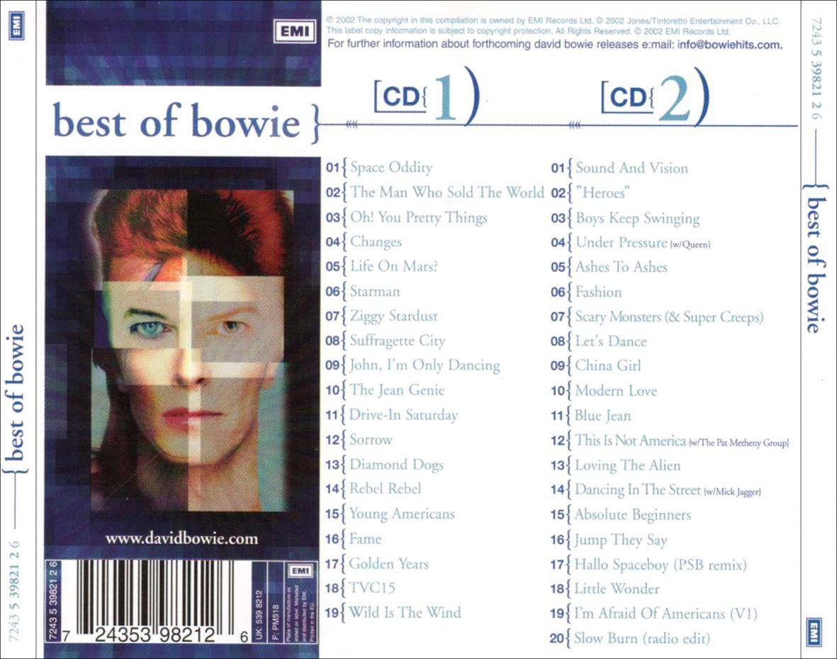 David Bowie - Best of Bowie 2 CD