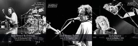 Jack Bruce - Live at Rockpalast: Essen, 1980 / Bochum, 1983 / Cologne, 1990 (2019)