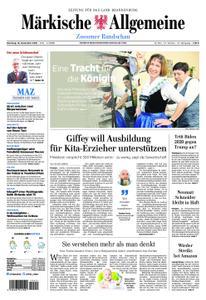 Märkische Allgemeine Zossener Rundschau - 18. Dezember 2018