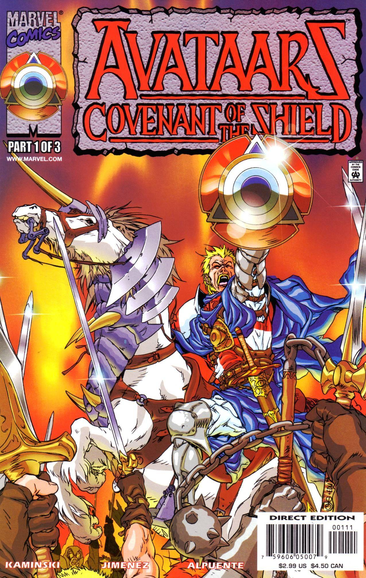 Avataars - Covenant of the Shield 01-03 2000