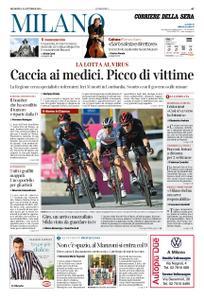 Corriere della Sera Milano – 25 ottobre 2020