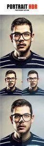 Portrait HDR Photoshop Action