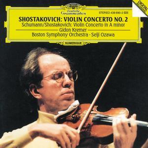 Gidon Kremer, Seiji Ozawa - Schumann, Shostakovich: Violin Concertos (1994)