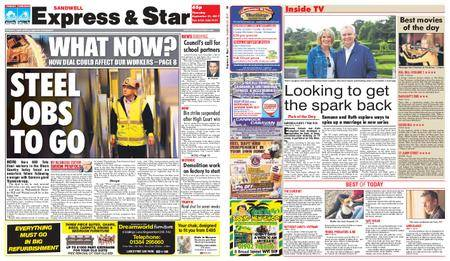 Express and Star Sandwell Edition – September 21, 2017