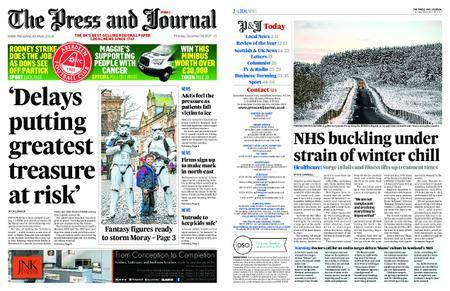The Press and Journal Moray – December 28, 2017