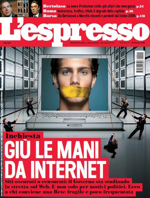 L'Espresso n.52 del 31 dicembre
