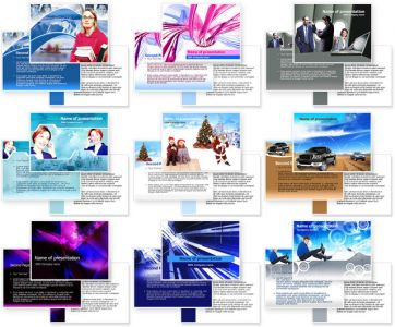60 Power Point Templates