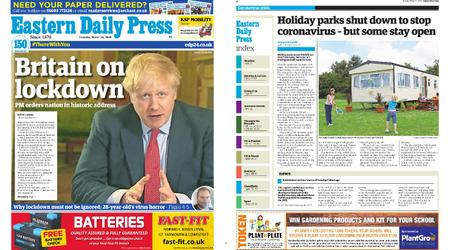 Eastern Daily Press – March 24, 2020