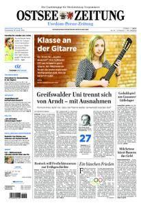 Ostsee Zeitung Wolgast - 18. Januar 2018