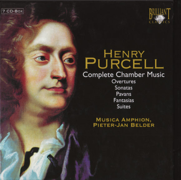 Henry Purcell - Complete Chamber Music - Musica Amphion/Pieter-Jan Belder [6/7]