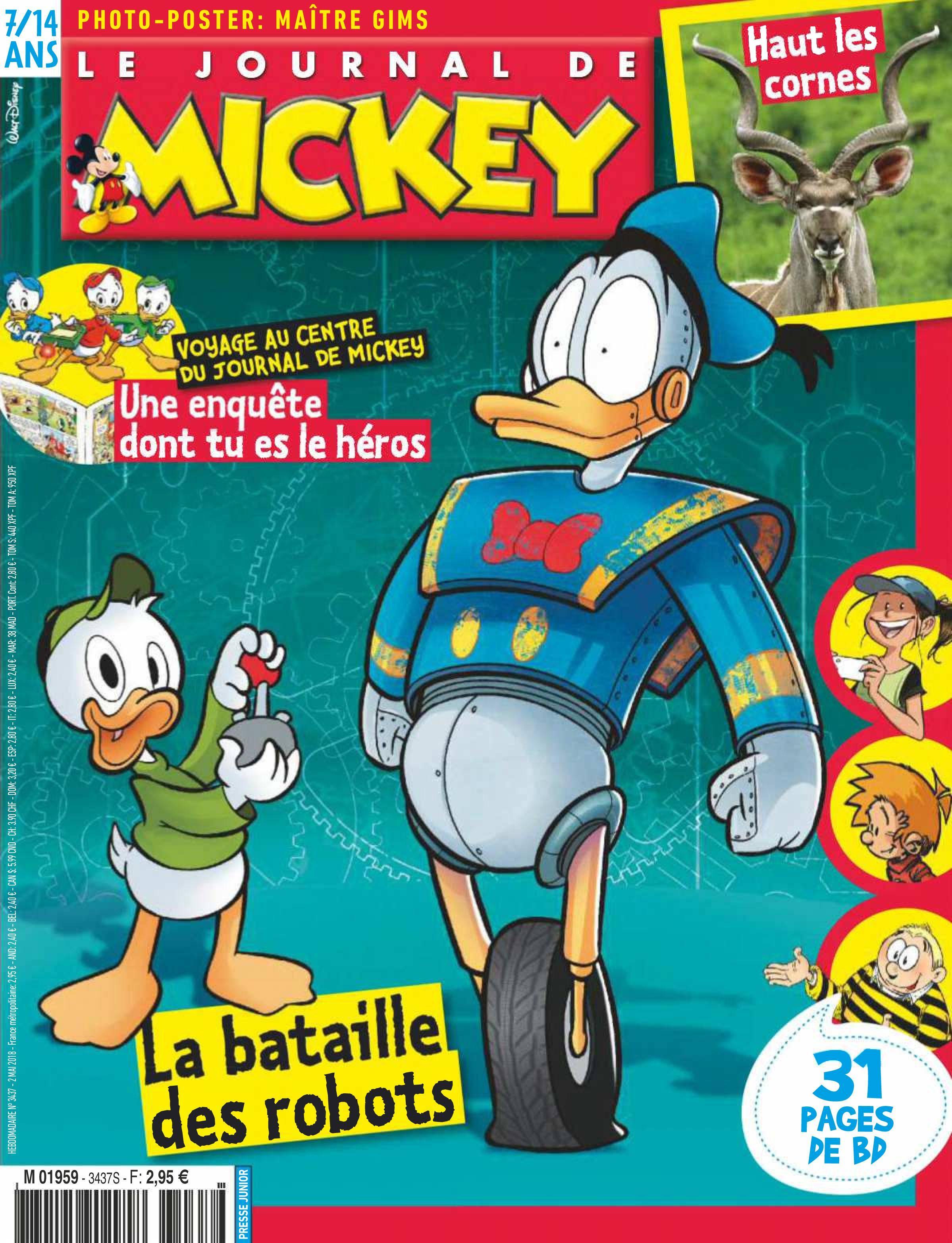 Le Journal de Mickey - 02 mai 2018