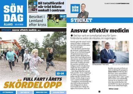 Ålandstidningen – 23 september 2018