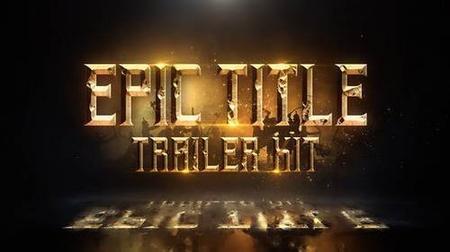 Videohive Epic Title Trailer Kit 23312565