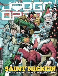 Judge Dredd Megazine 403 2018 digital Minutemen