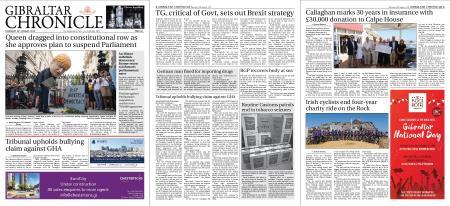 Gibraltar Chronicle – 29 August 2019