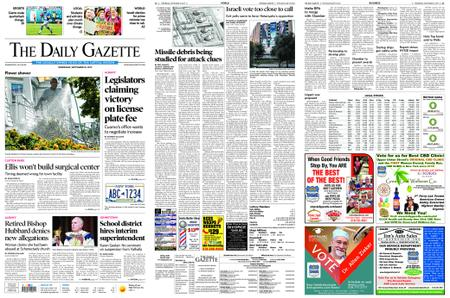 The Daily Gazette – September 18, 2019