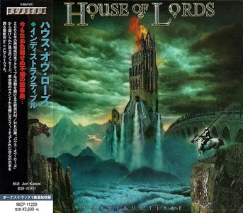 House Of Lords - Indestructible (2015) {Japan 1st Press}