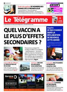 Le Télégramme Brest – 07 avril 2021