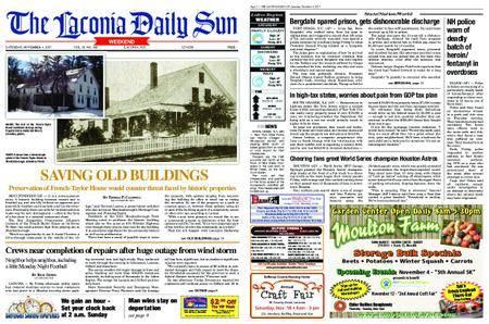 The Laconia Daily Sun – November 04, 2017