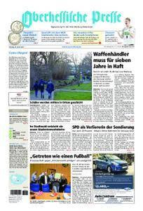 Oberhessische Presse Marburg/Ostkreis - 20. Januar 2018