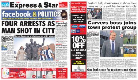 Express and Star City Edition – May 22, 2019